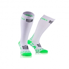 CALCETINES COMPRESSPORT RACKET FULL RECOVERY WHITE