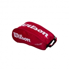 BOLSA ZAPATOS WILSON TOUR SHOE BAG III RED