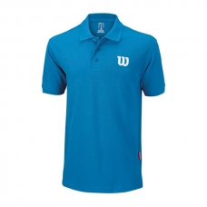 POLO WILSON CORE COTTON W AZUL