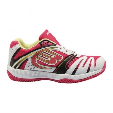 Zapatillas Bullpadel Bale Woman Blanco Fucsia