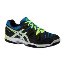 Asics Gel Game 5 Clay Negro Azul ASICS GEL GAME 5 CLAY NEGRO AZUL E513Y 9901