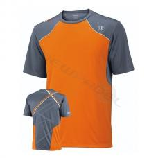 Camiseta Wilson Well Equipped Crew Naranja