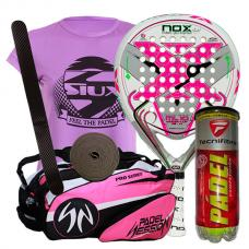 pack nox ml10 woman y paletero padel session