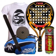 pack nox stinger soft s.1 y paletero padel session