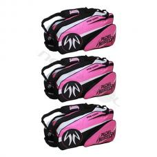 Pack 3 Paletero Padel Session Rosa
