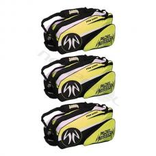 Pack 3 Paletero Padel Session Verde