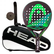 Pack Head Gamma Graphene Pro y paletero Head Padel Supercombi