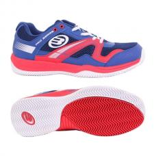 Zapatillas Bullpadel Bonso Man Azul y Rojo