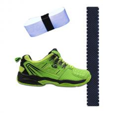 Zapatillas Siux Furtive Green + overgrip + protector